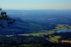 From Stewart Mt towards Point Roberts
